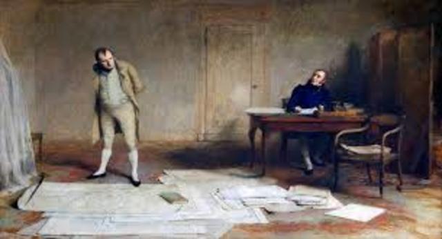 Napoleon capture by british