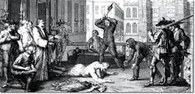 charles got executed