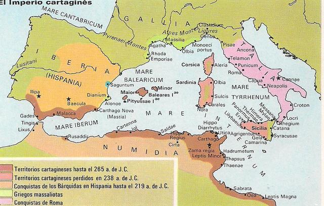 Expulsión de los cartagineses