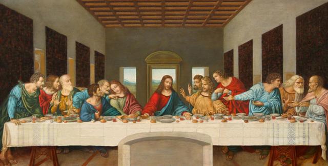 Leonardo Da Vinci : Last Supper
