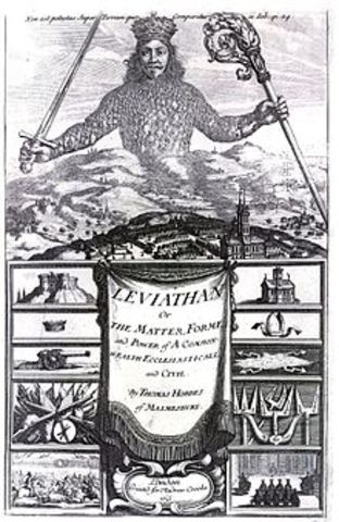 Hobbes publishes leviathan
