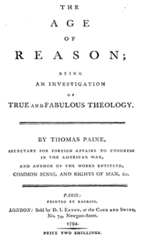 Thomas Paine's The Age of Reason