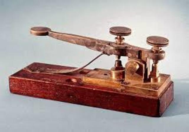 Samuel Morse inverts the telegraph