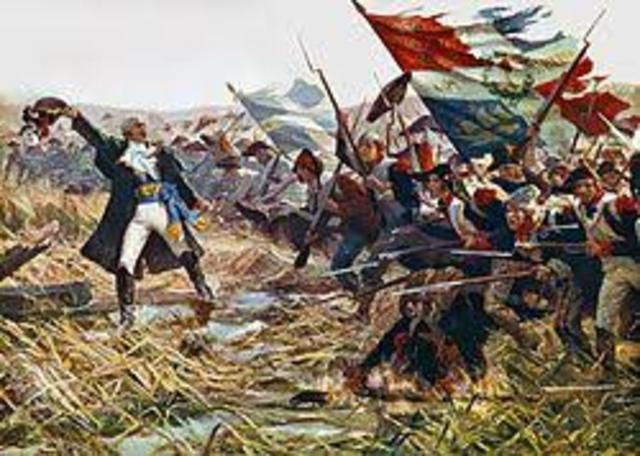 France enters the war against Britian