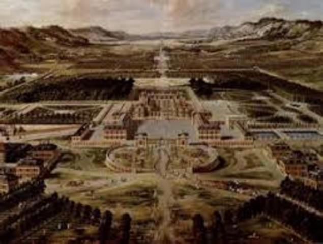 Louis XIV created the Palace of versailles May 6th, 1682