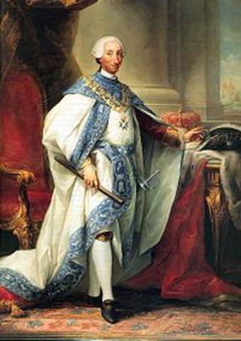 Carlos III de España accede al trono