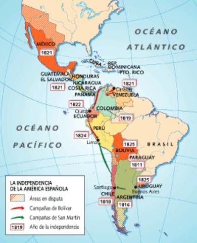 Colonias españolas en América