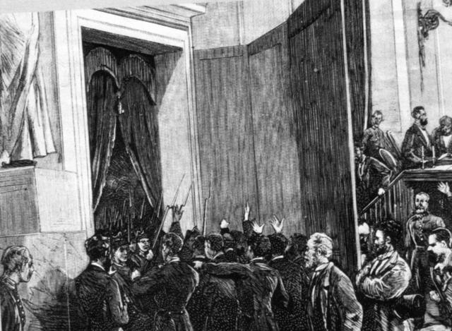Golpe de Estado de Pavía y pronunciamiento del General Martínez Campos