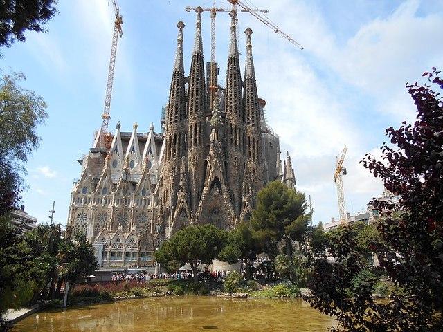 La Sagrada Familia (Gaudí)