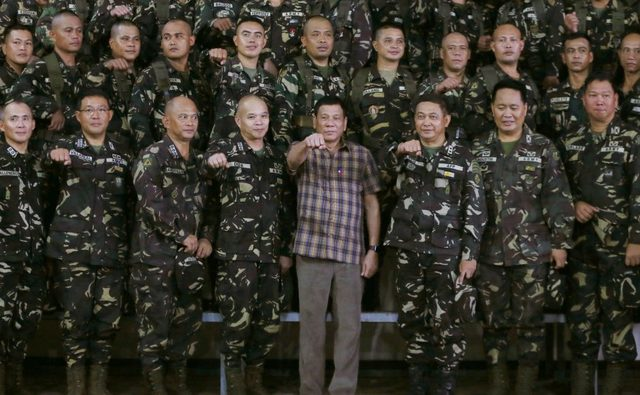 Duterte declares martial law in Mindanao