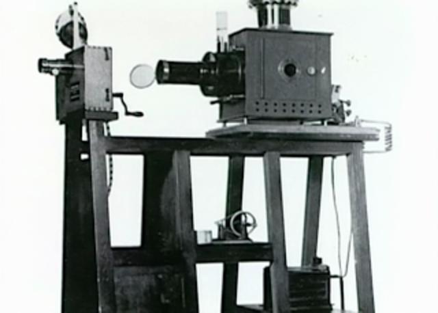 Registro del patente del Cinematógrafo.
