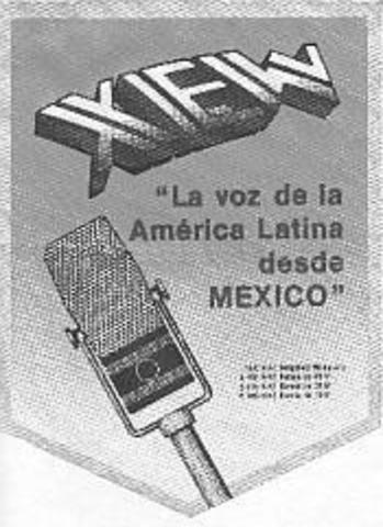 Primer transmisión radiofónica en México