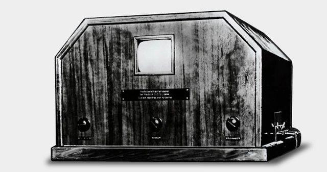 Primer televisor sin motor