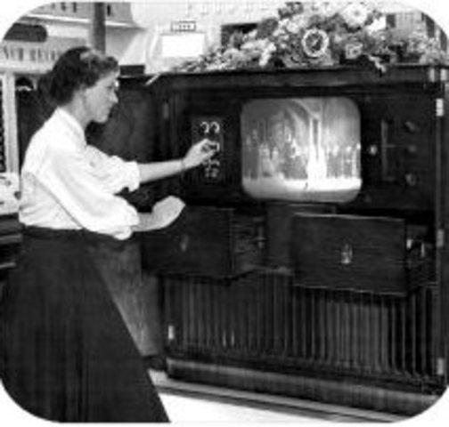 Primer demostración pública del televisor
