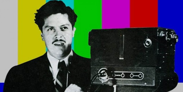 Primer transmisión a color de la televisión
