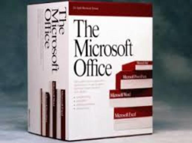 Software de apoyo: Microsoft Office