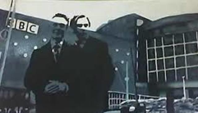 Primera transmisión publica de televisión