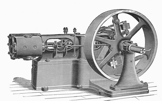 First Steam Engine.