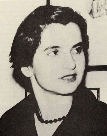 """Rosalind Franklin works with DNA and X-Ray crystallography and develops """"Image 51"""""""