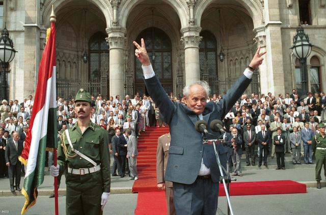 Göncz Árpád köztársasági elnökké választása