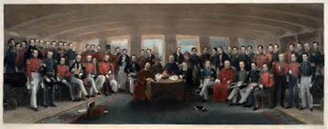 The Treaty of nanking