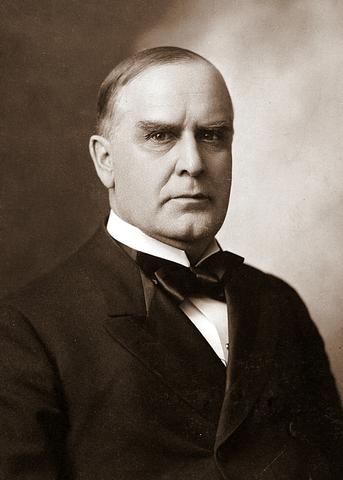 Уильям Мак-Кинли - младший, 25-й президент США