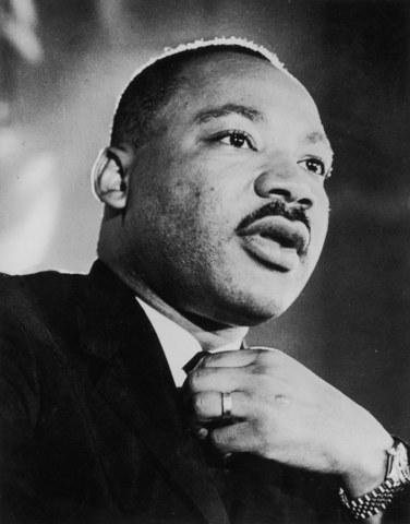 Dr. King Speaks Up