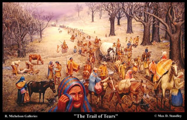 Trail of Tears Began