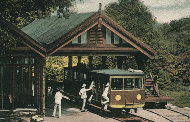 Peak tram opened