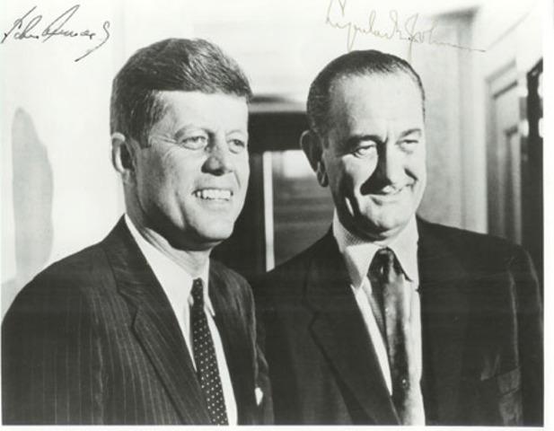 President Johnson Returns