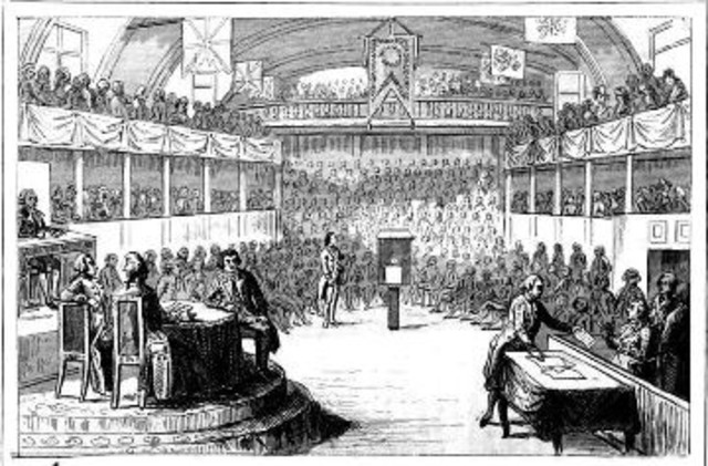 Formation of National Assembly