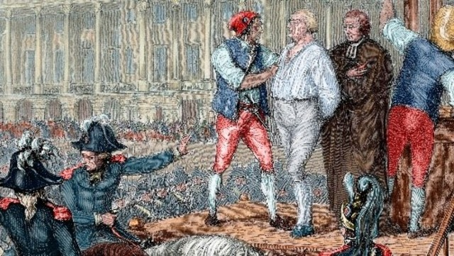 Louis XVI is executed
