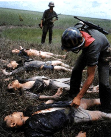 Viet Cong Seize Hamlets
