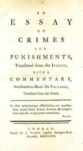 Cesare Beccaria (On Crimes and Punishments)