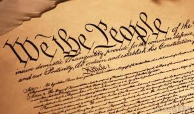 U.S. Constitution replaces the Articles of Confederation