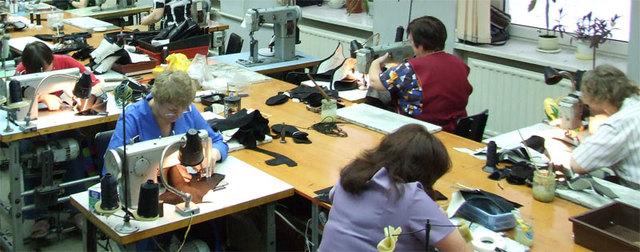 Фабрика по производству обуви и кожаных изделий