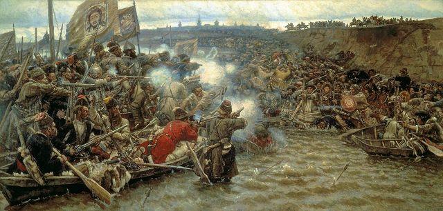 Conquering of Siberia