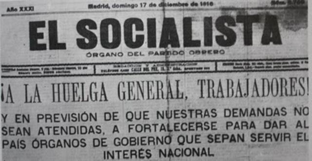 La triple crisis de 1917