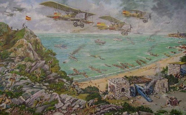 Desembarco de Alhucemas y rendición de Abd-el-Krim