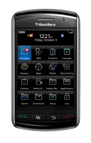 Blackberry Storm and Tour Product Family (1.1, 1.10, 1.11, 2.1, 3.1, 3.5)