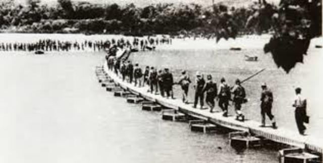 Desarrollo militar en la guerra civil 1938