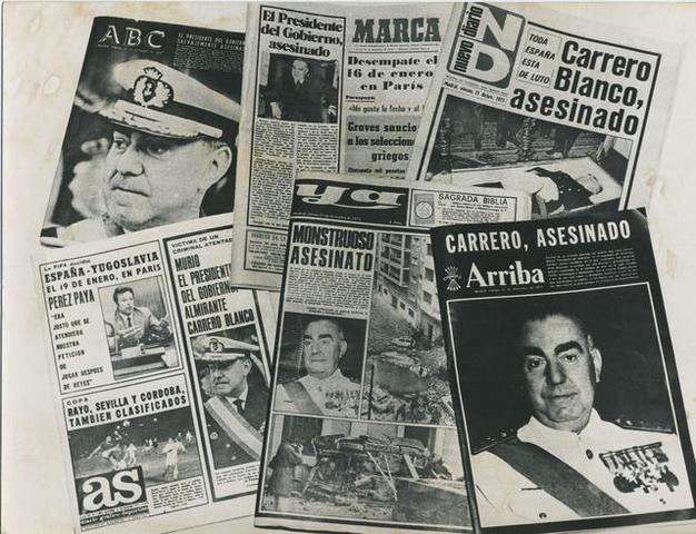 Asesinato del vicepresidente Luis Carrero Blanco