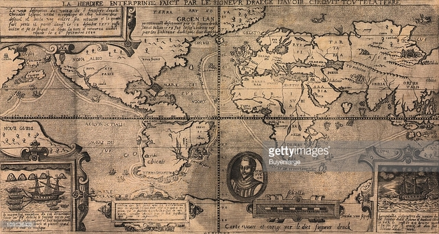 Francis Drake Circumnavigates the Globe