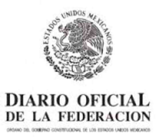 Decreto de gran importancia en el Diario Oficial de la Federación