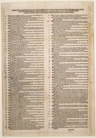 publication of 95 theses