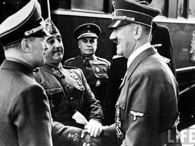 Afinidad con potencias del Eje 1940-1941