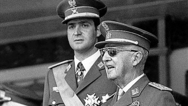 Juan Carlos de Borbón cómo sucesor