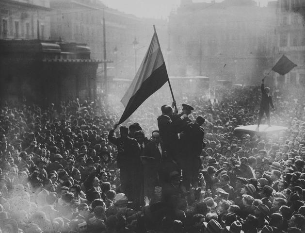 Exilio de Alfonso XIII el 14 de Abril