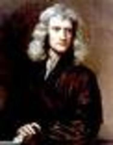 Sir Isaac Newton invented the 3 laws of motion