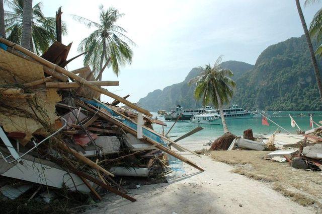 Tsunami a tailandia (Fet climàtic)